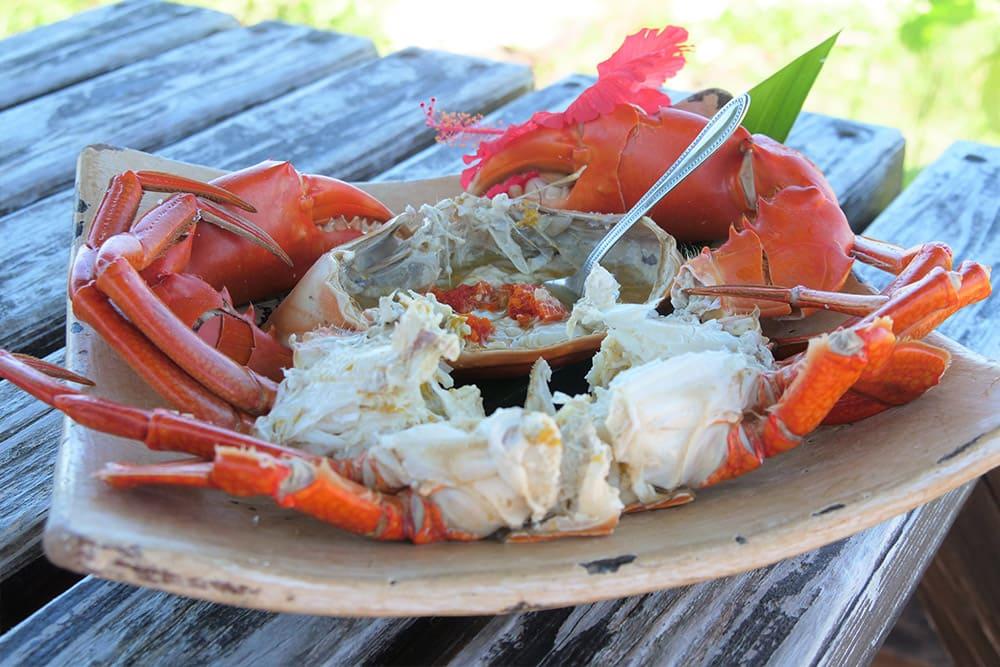 蟹蔵のオリジナル料理
