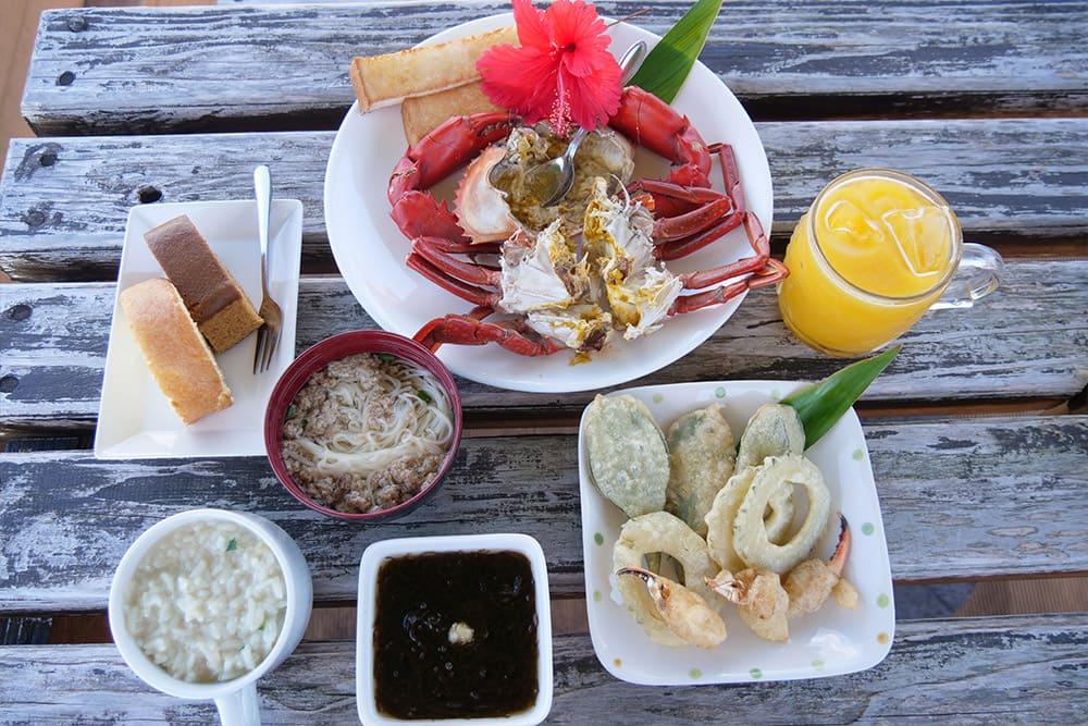 蟹蔵オリジナルの絶品料理の数々